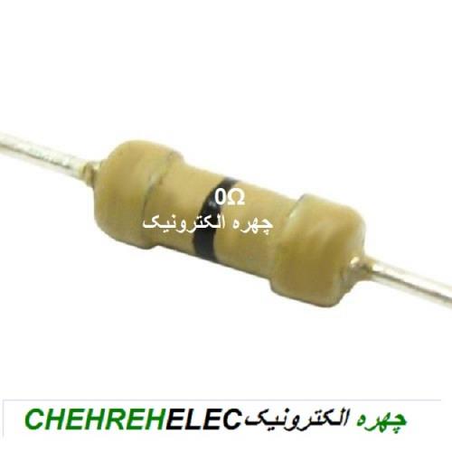 مقاومت 0 اهم (1/4W-%5)